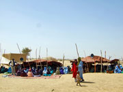 Gathering of Tuareg elders to explore possible community projects (click to enlarge)